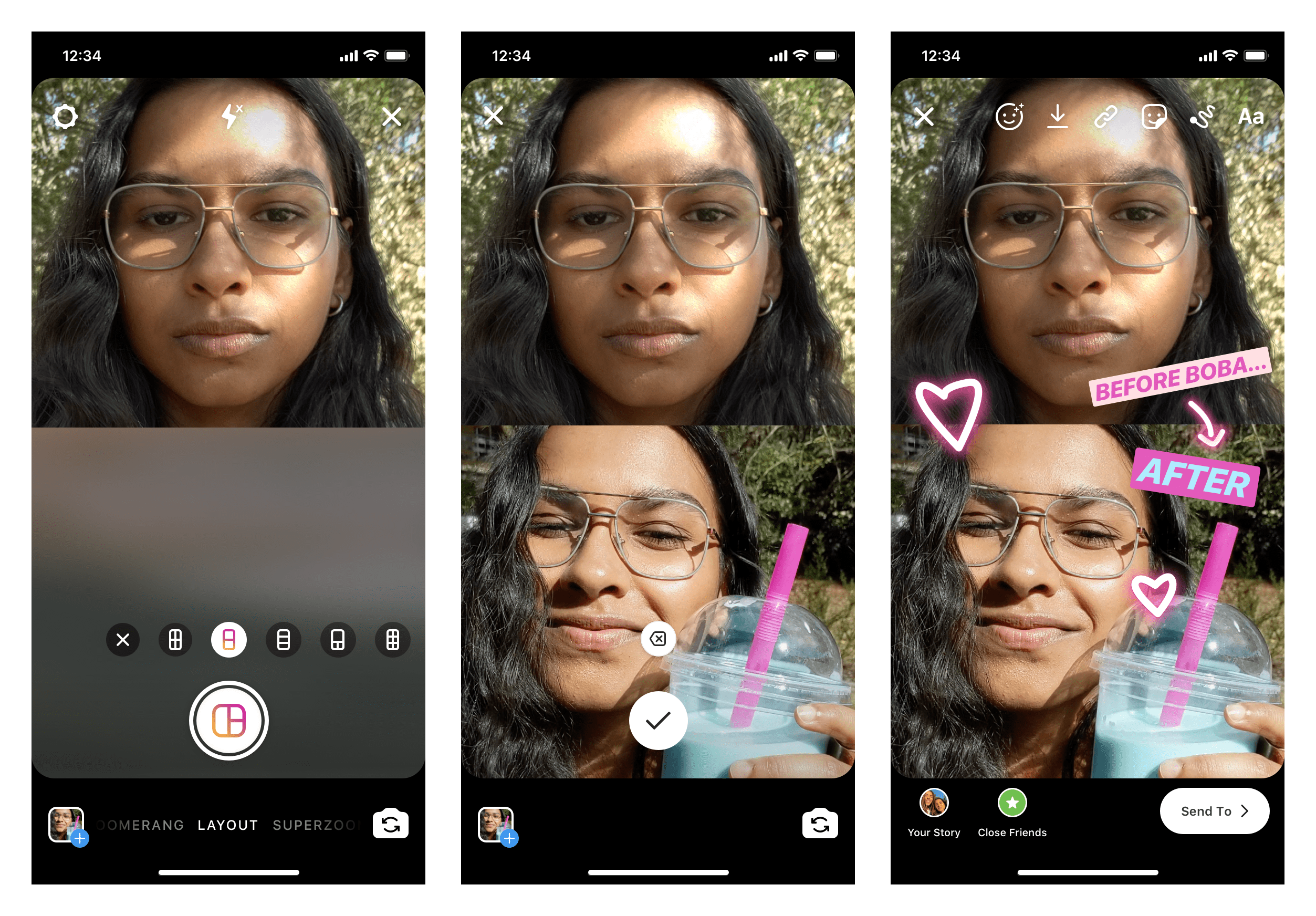 Instagram-Story-Layouts