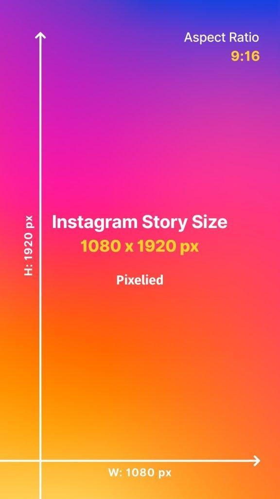 Instagram Story Size